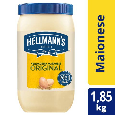 Hellmann's Maionese 1,85Kg