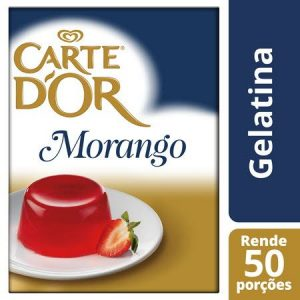 Carte D'or Gelatina animal desidratada Morango 850Gr