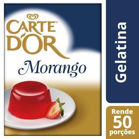 Carte D'or Gelatina animal desidratada Morango 850Gr