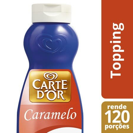 Carte D'Or topping líquido Caramelo 1Kg