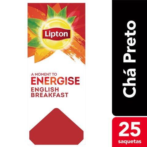Lipton chá preto English Breakfast
