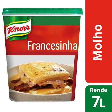 Knorr molho pasta Francesinha 721Gr