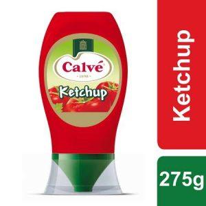 Calvé Ketchup Pure Top Down 275 Gr