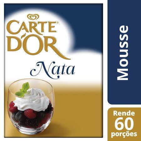 Carte D'Or mousse desidratada Sabor a Nata 600Gr