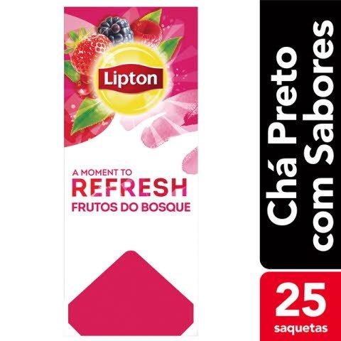 Lipton chá sabores Frutos do Bosque