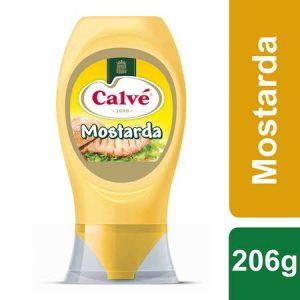 Calvé Mostarda Top Down 206Gr