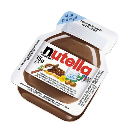 Nutella 15 Grs
