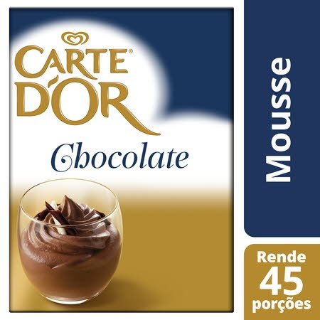 Carte D'Or mousse desidratada Chocolate 720Gr