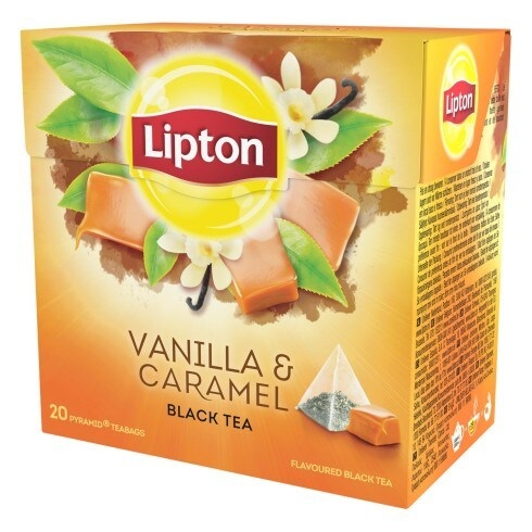 Lipton Baunilha e Caramelo
