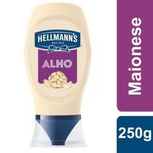 Hellmann's Maionese Alho Top Down 250Gr