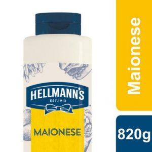 Hellmann's Maionese 820 Gr