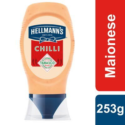 Hellmann's Maionese Chilli Top Down 253Gr