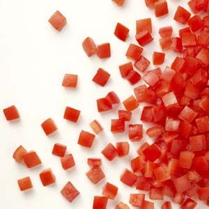 Tomates em Cubos