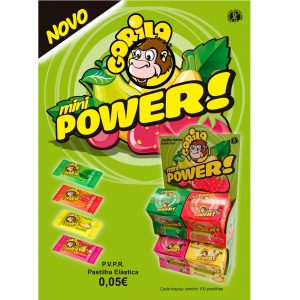 Gorila Expositor Mini Power