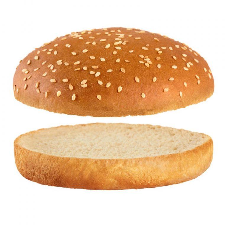 Pão Hambúrguer 12,5cm Sésamo Cortado