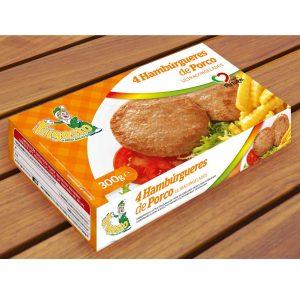 Hambúrgueres 4 de Porco
