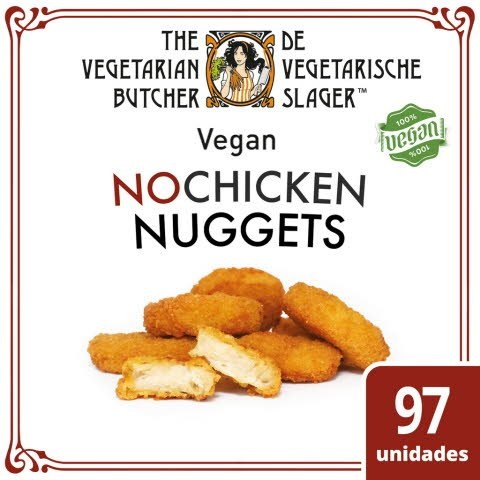 """The Vegetarian Butcher - Nuggets de """"Frango"""" Vegan 1,75Kg"""