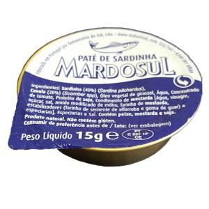 Paté de Sardinha 15Grs (MarDoSul)