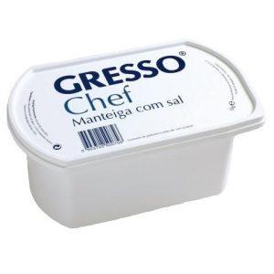 Manteiga com sal 1 kg (Gresso)