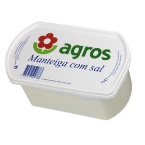 Manteiga com sal 1 kg (agros)